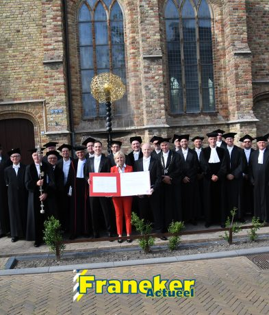 Promotie Annalies Outhuijse *foto's*
