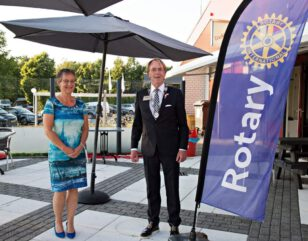 Franeker Clemens Groppe Gouverneur Rotary District 1590