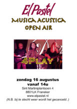 Musica Acustica Open Air: 4Play!